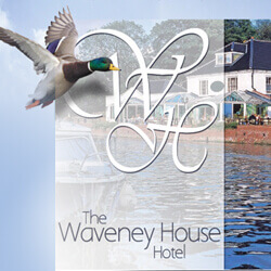 Waveney House Hotel website